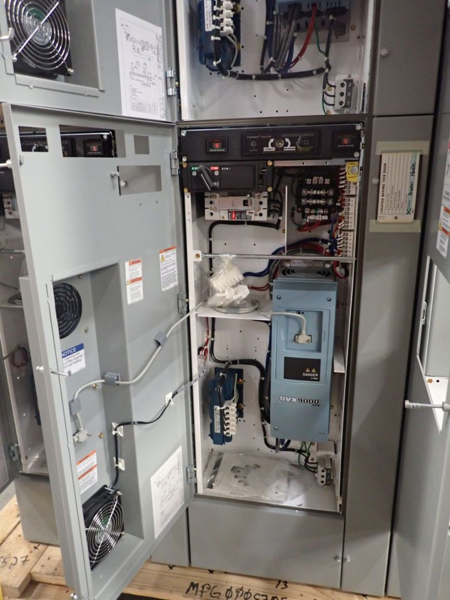 Eaton Freedom 2100 Series Motor Control Center   (4) SVX900-30A, with Eaton AF Drives, SVX9000, - Image 43 of 60