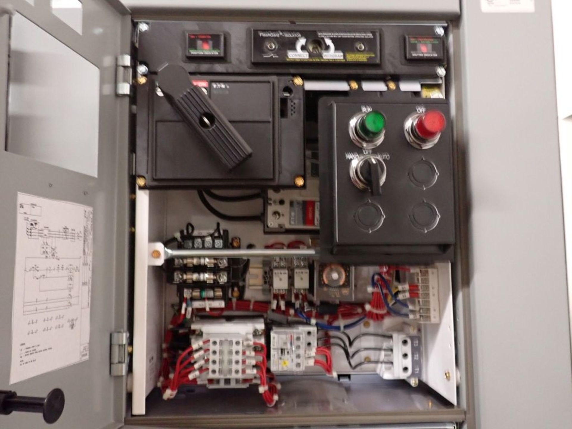 Eaton Freedom 2100 Series Motor Control Center | (11) F206-30A-10HP; (5) F206-15A-10HP; (1) SVX900- - Image 84 of 102