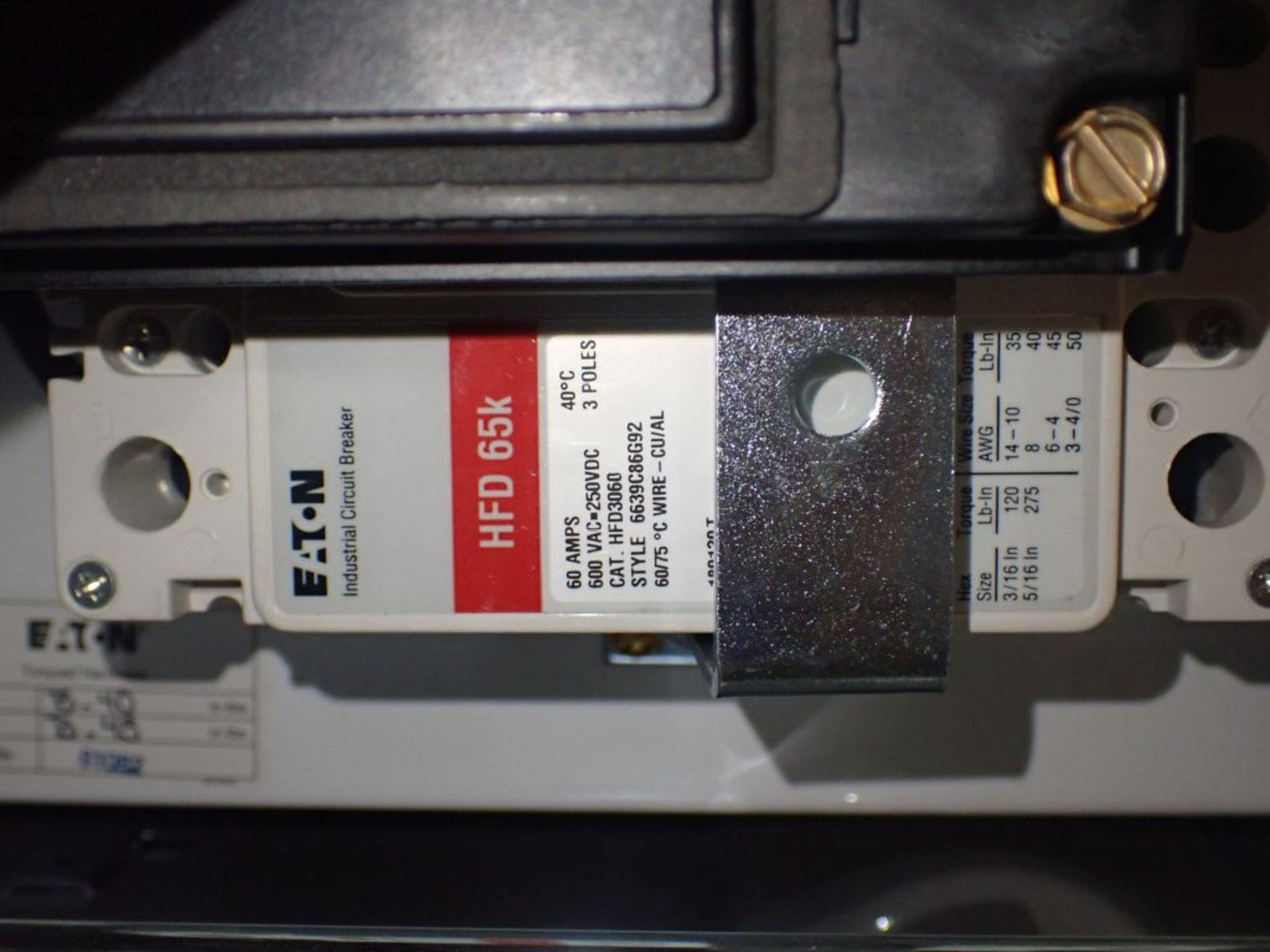 Eaton Freedom Flashgard Motor Control Center   (3) F216-15A-10HP; (1) FDRB-125A, with 150A - Image 34 of 57