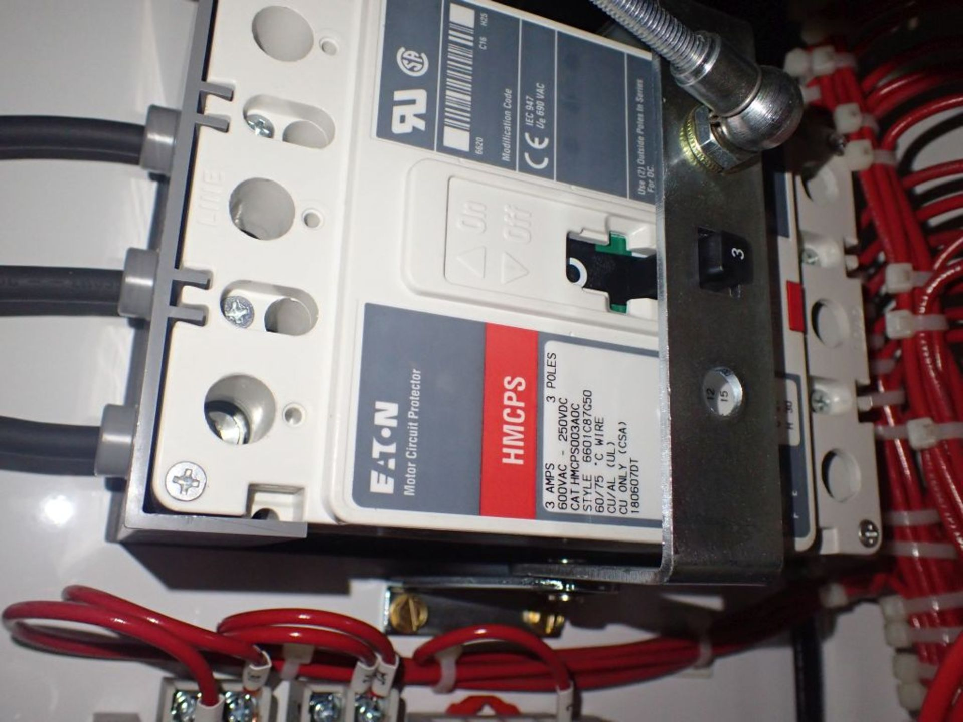 Eaton Freedom 2100 Series Motor Control Center | (2) F206-15A-10HP; (1) FDRB-250A; (1) FDRB-400A; ( - Image 82 of 104