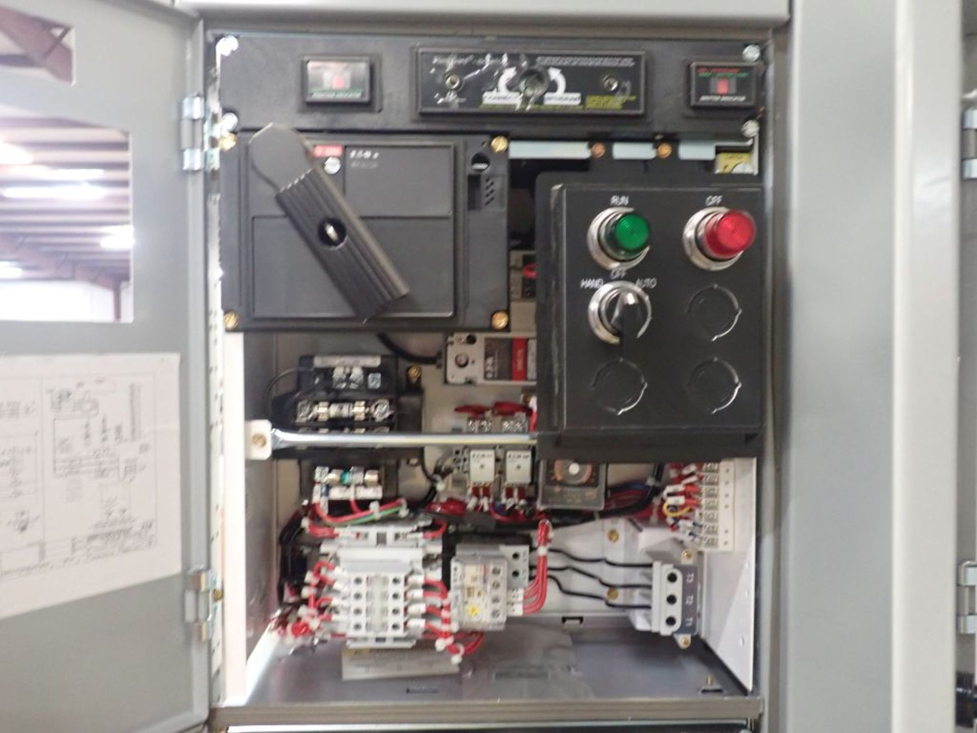 Eaton Freedom Flashgard Motor Control Center w/Components | (5) F206-15A-10HP; (4) F206-30A-10HP; ( - Image 45 of 84