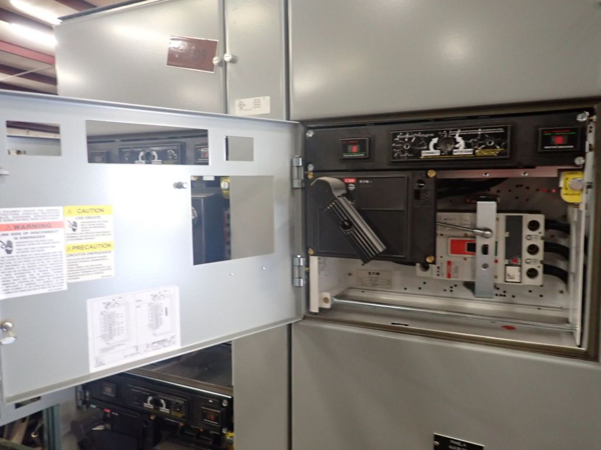 Eaton Freedom 2100 Series Motor Control Center   (2) F206-15A-10HP; (1) F206-30A-10HP; (1) FDRB- - Image 38 of 61