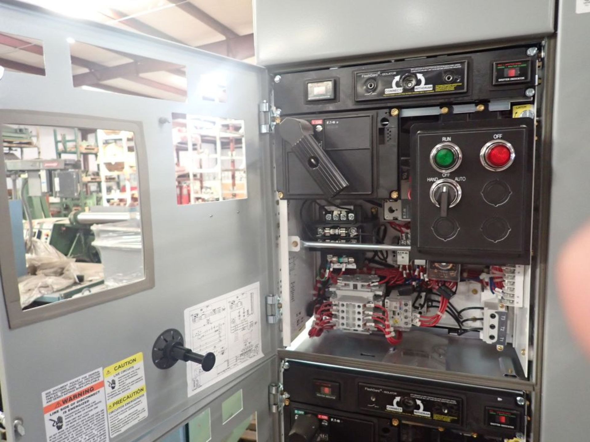 Eaton Freedom 2100 Series Motor Control Center   (2) F206-15A-10HP; (1) F206-30A-10HP; (1) FDRB- - Image 17 of 61