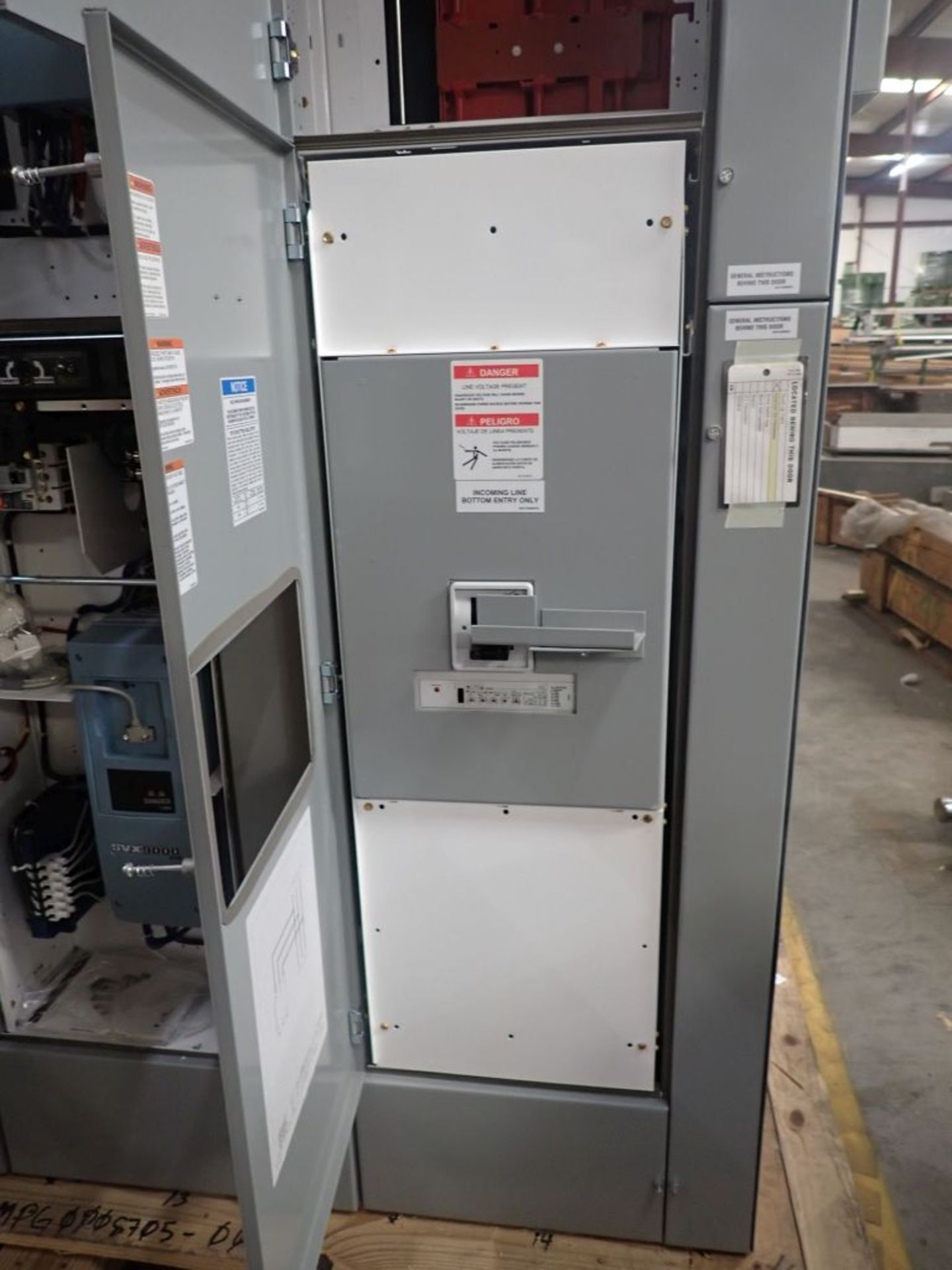 Eaton Freedom 2100 Series Motor Control Center   (4) SVX900-30A, with Eaton AF Drives, SVX9000, - Image 51 of 60
