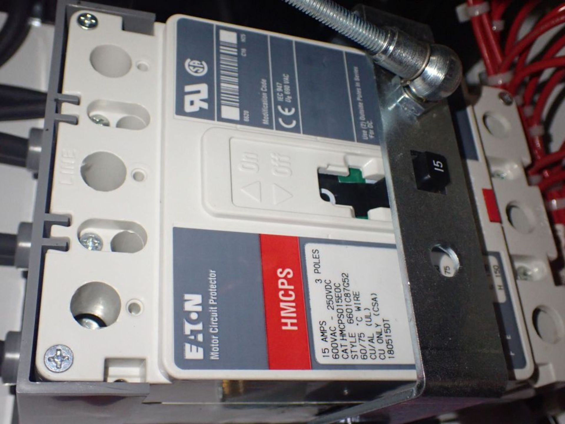 Eaton Freedom 2100 Series Motor Control Center | (2) F206-15A-10HP; (1) FDRB-250A; (1) FDRB-400A; ( - Image 77 of 104