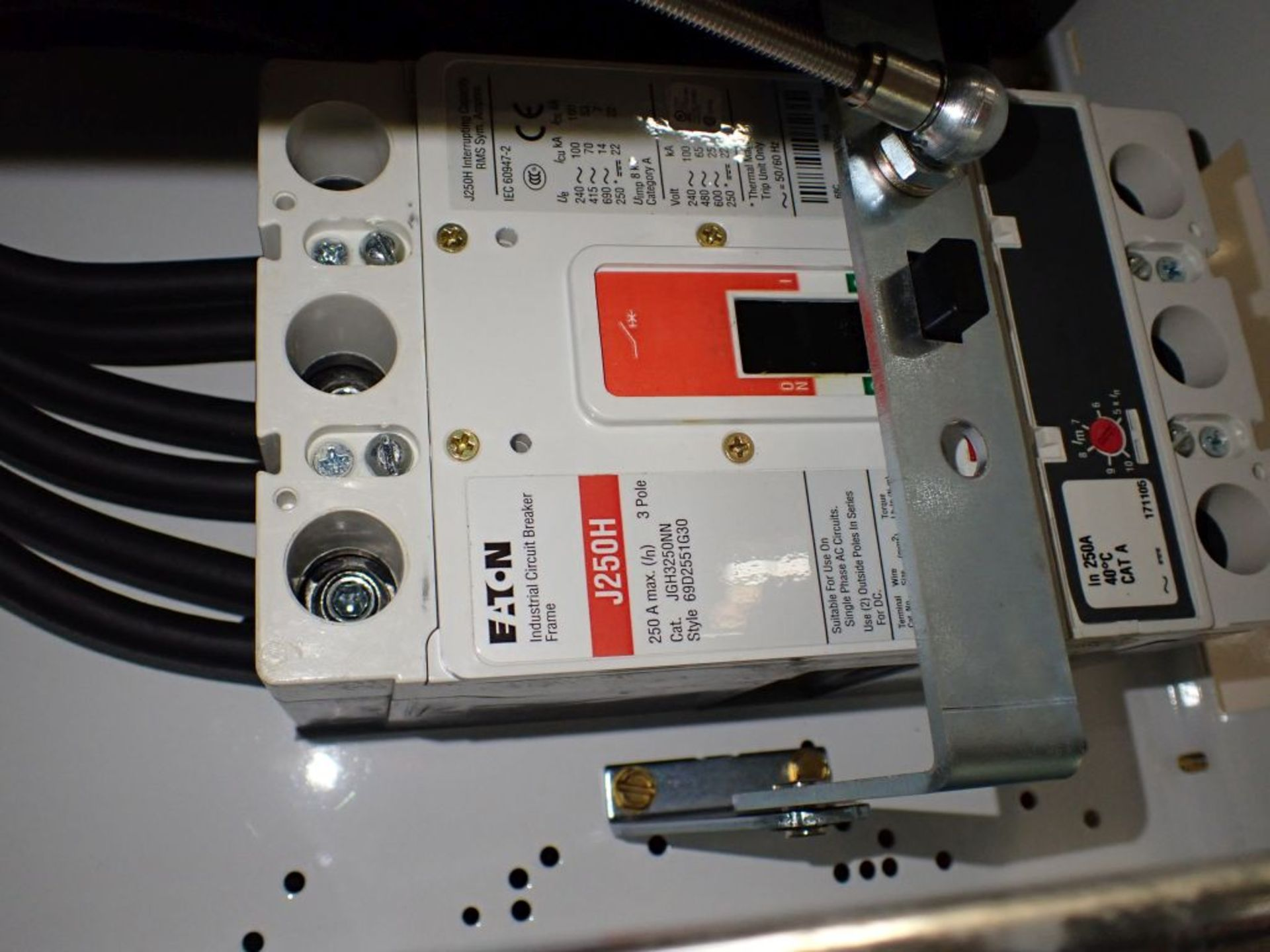 Eaton Freedom Flashgard Motor Control Center   (3) F216-15A-10HP; (1) FDRB-125A, with 150A - Image 53 of 57