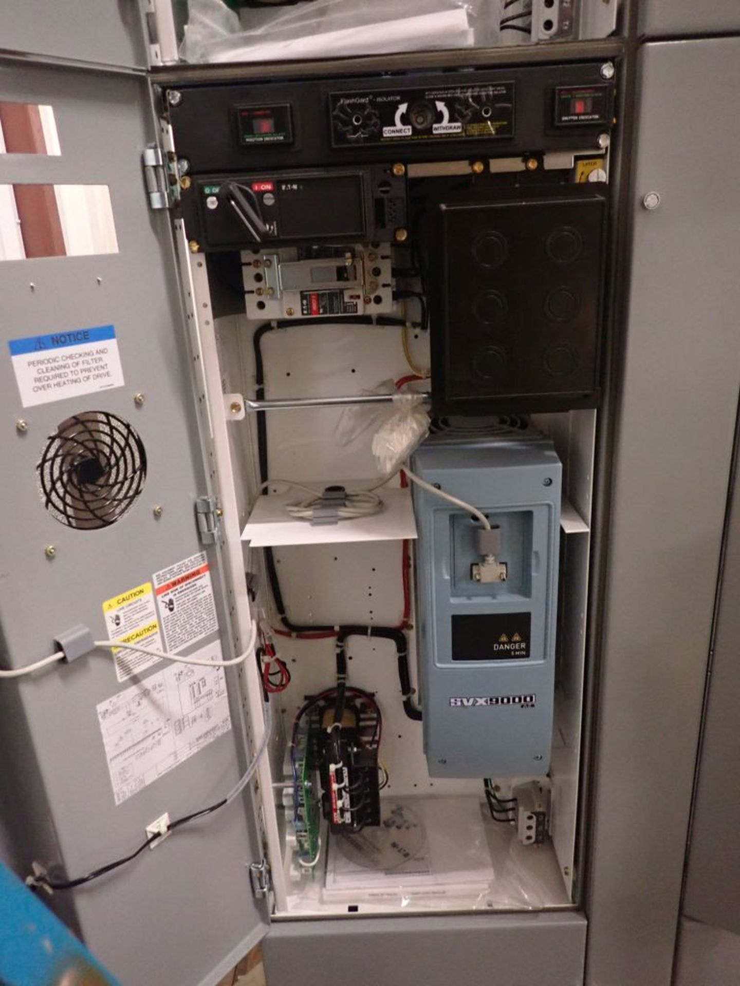 Eaton Freedom 2100 Series Motor Control Center | (2) F206-7A-10HP; (3) F206-15A-10HP; (1) FDRB-100A; - Image 18 of 87