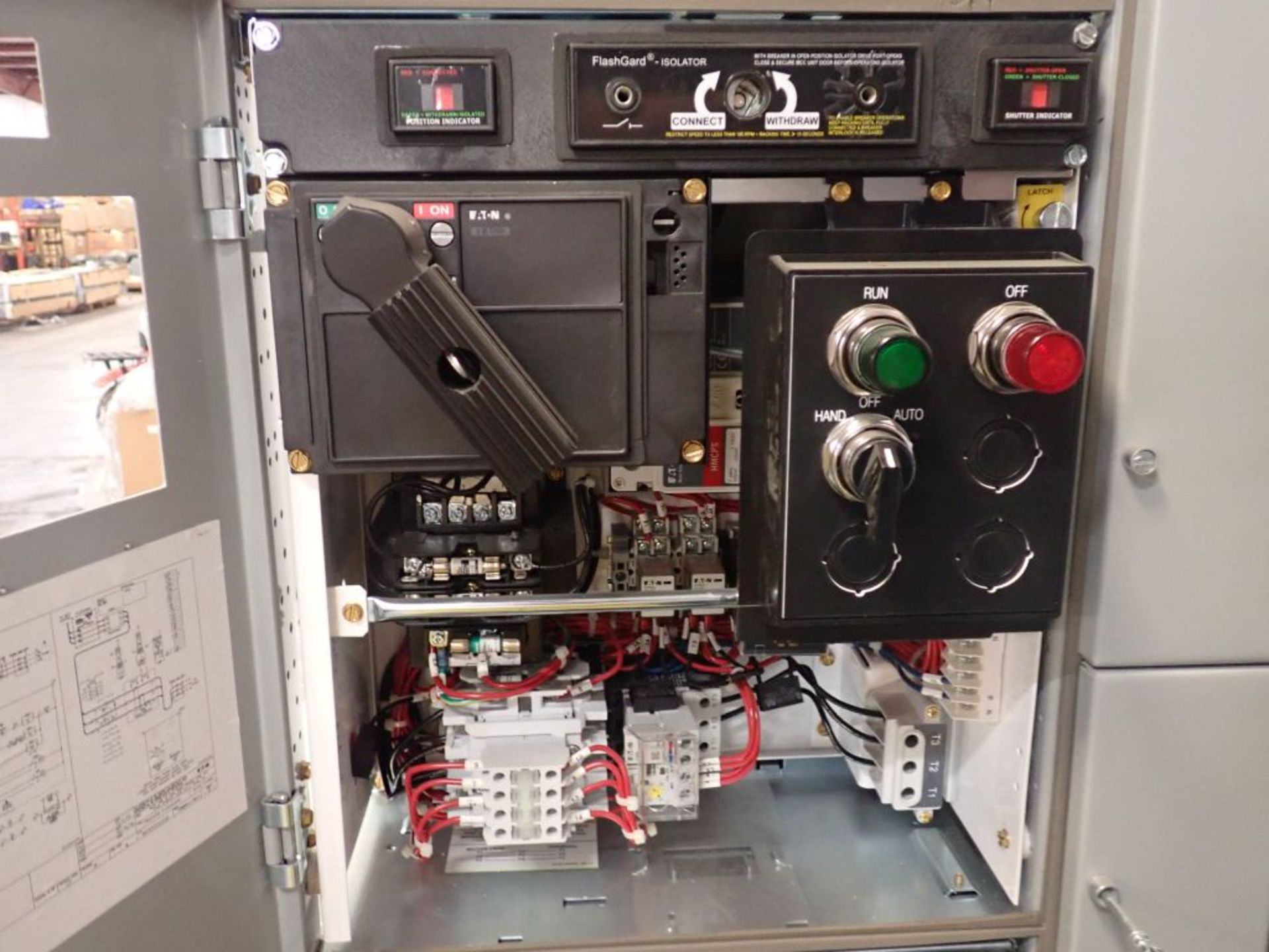 Eaton Freedom 2100 Series Motor Control Center | (2) F206-7A-10HP; (3) F206-15A-10HP; (1) FDRB-100A; - Image 50 of 87