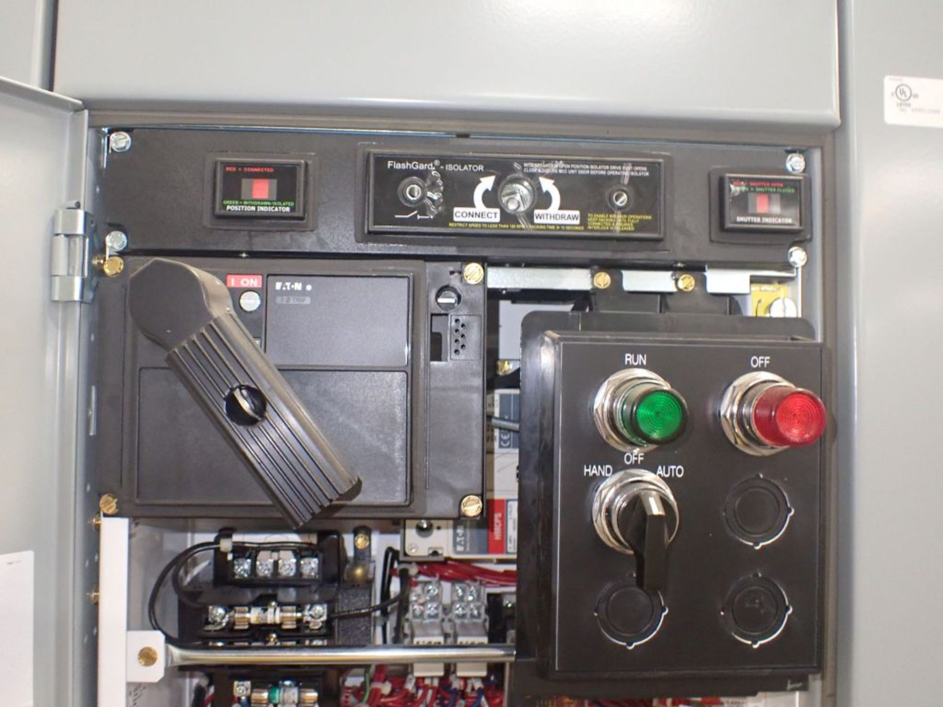 Eaton Freedom Flashgard Motor Control Center w/Components | (5) F206-15A-10HP; (4) F206-30A-10HP; ( - Image 26 of 84