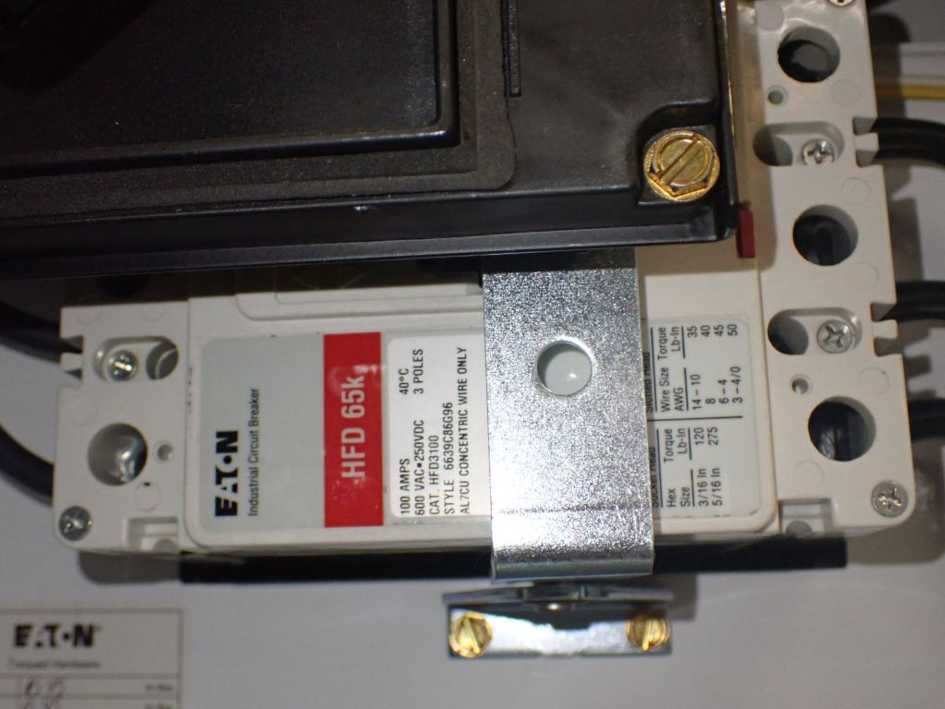 Eaton Freedom Flashgard Motor Control Center   (3) F216-15A-10HP; (1) FDRB-125A, with 150A - Image 40 of 57