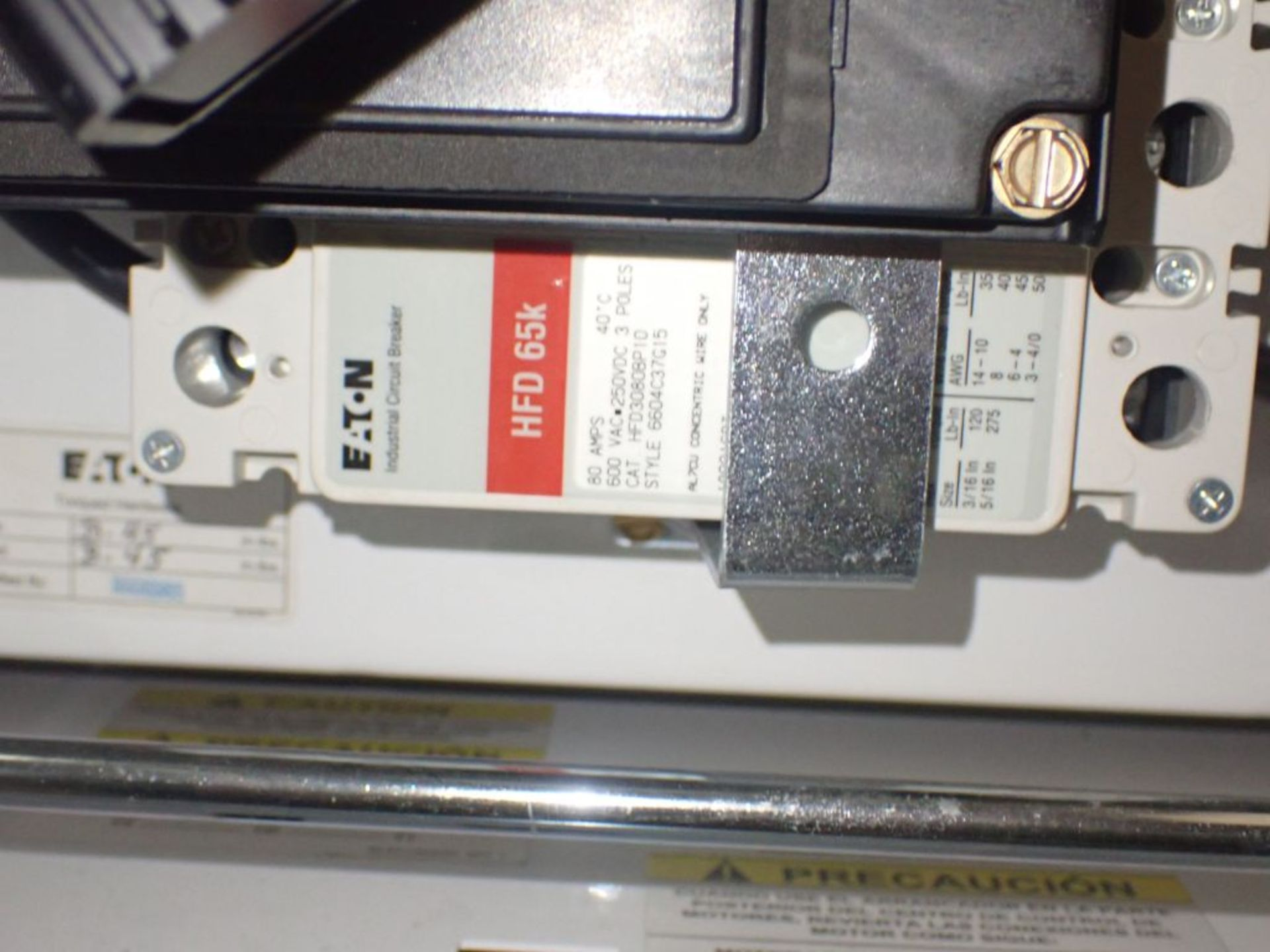 Eaton Freedom Flashgard Motor Control Center w/Components | (5) F206-15A-10HP; (4) F206-30A-10HP; ( - Image 83 of 84