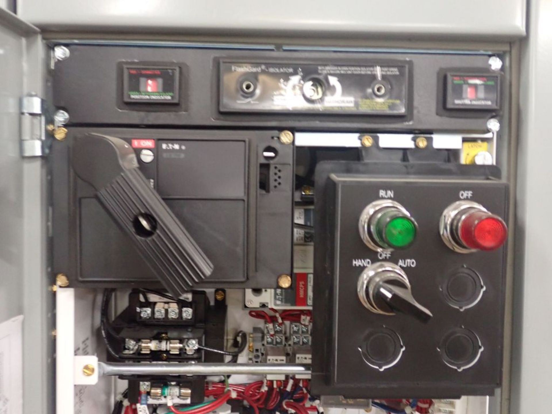 Eaton Freedom 2100 Series Motor Control Center   (2) F206-15A-10HP; (2) SVX900-50A, with Eaton AF - Image 36 of 48