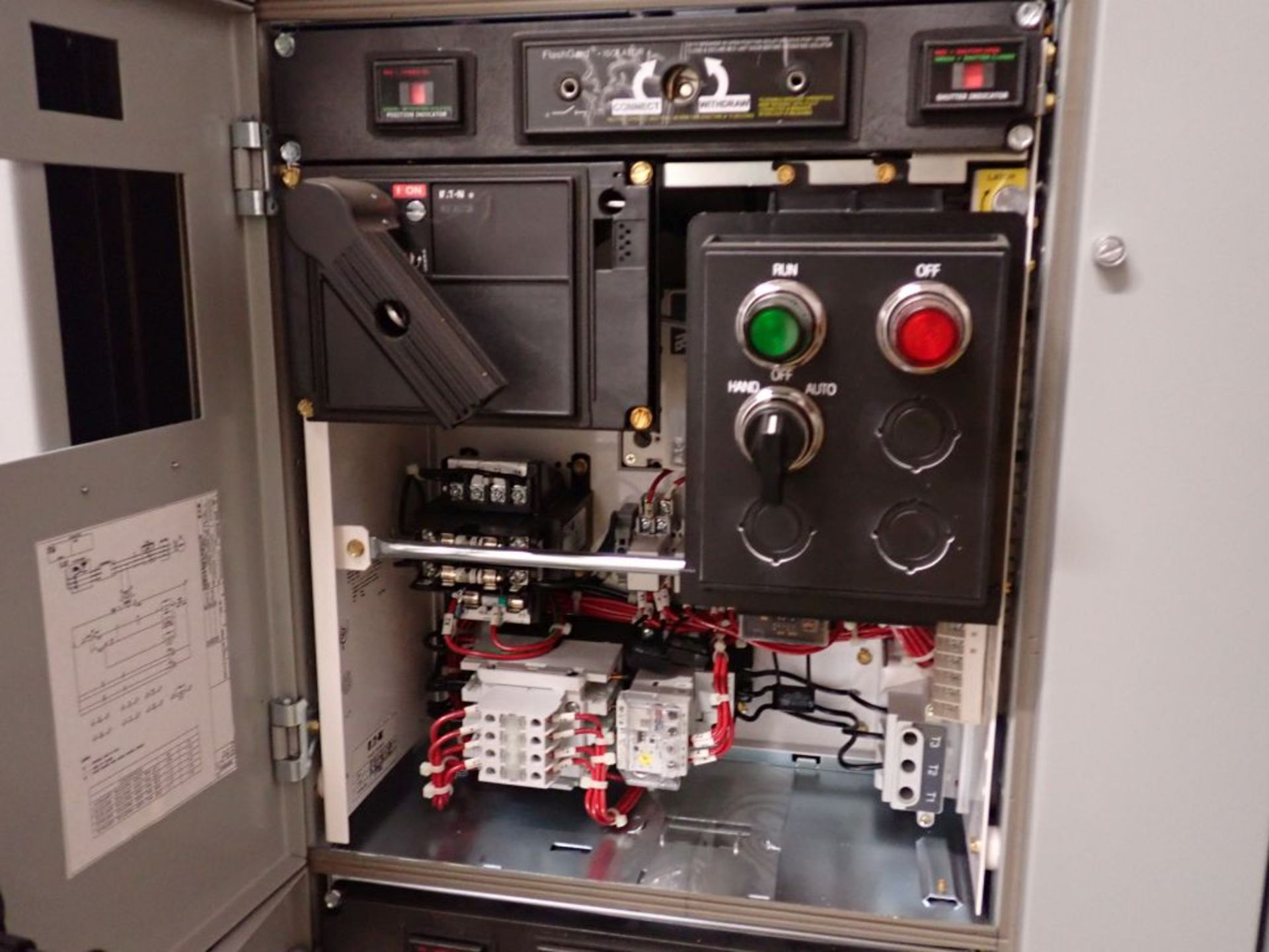 Eaton Freedom 2100 Series Motor Control Center | (11) F206-30A-10HP; (5) F206-15A-10HP; (1) SVX900- - Image 68 of 102
