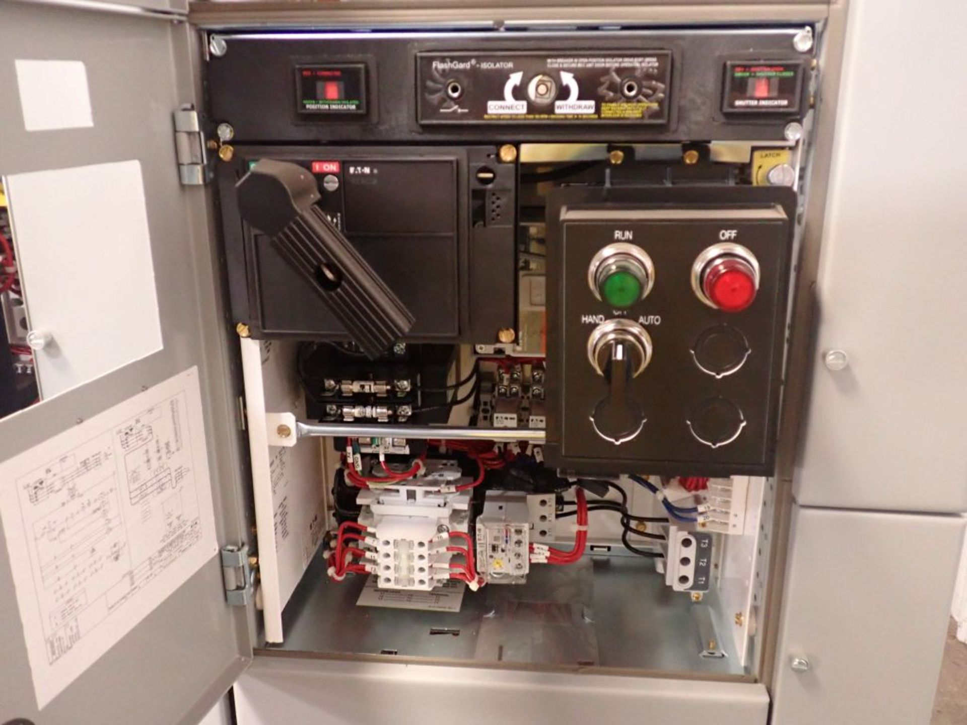 Eaton Freedom 2100 Series Motor Control Center | (2) F206-7A-10HP; (3) F206-15A-10HP; (1) FDRB-100A; - Image 73 of 87