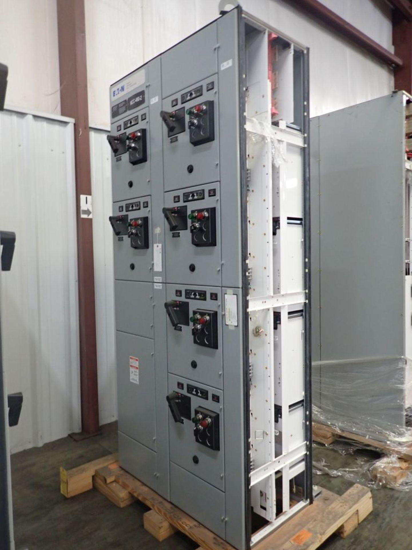 Eaton Freedom Flashgard Motor Control Center w/Components | (5) F206-15A-10HP; (4) F206-30A-10HP; (
