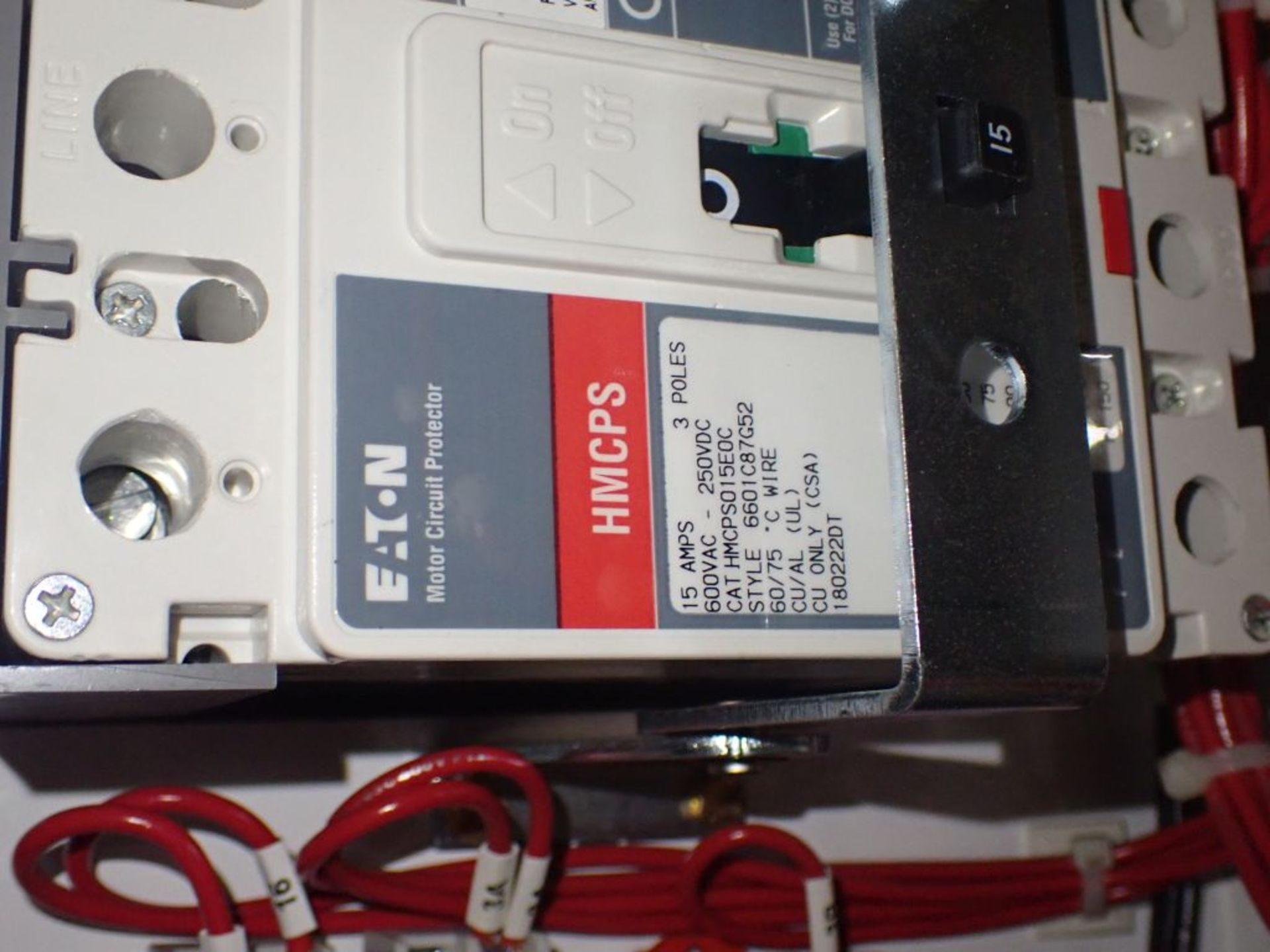 Eaton Freedom 2100 Series Motor Control Center   (2) F206-15A-10HP; (2) SVX900-50A, with Eaton AF - Image 35 of 48