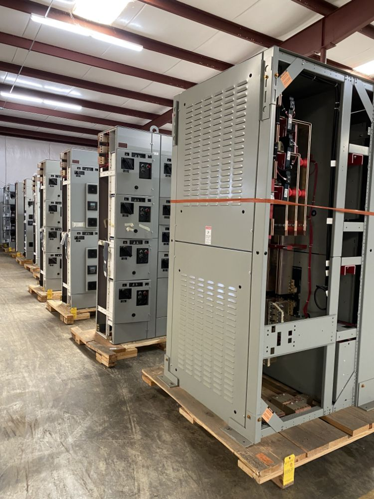New Uninstalled Motor Control Centers & Switchgear