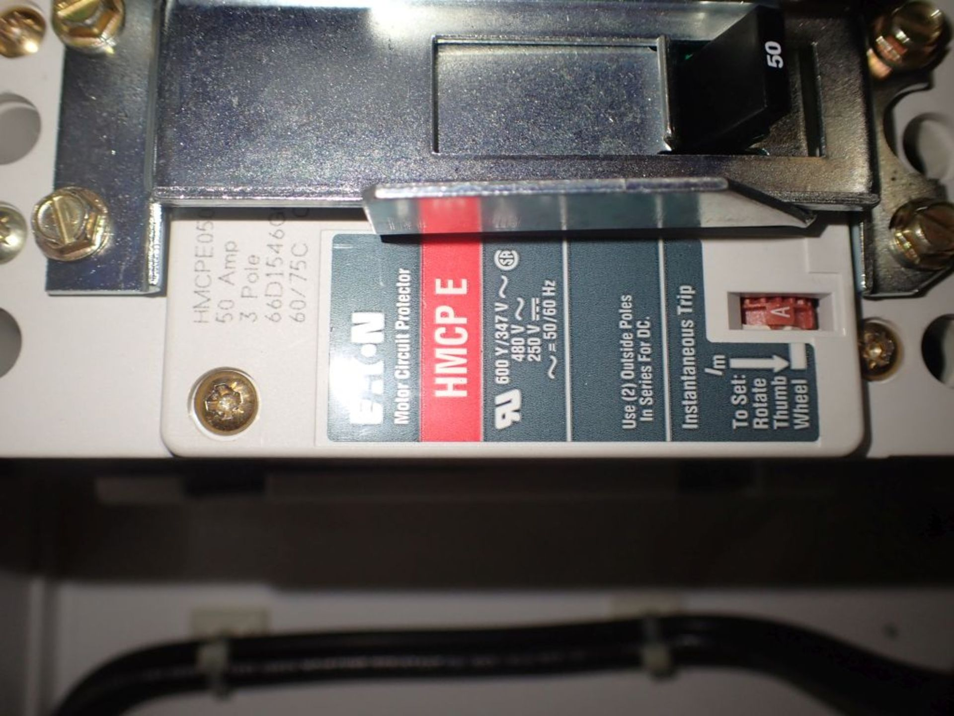 Eaton Freedom 2100 Series Motor Control Center   (2) F206-15A-10HP; (2) SVX900-50A, with Eaton AF - Image 44 of 48
