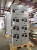 Eaton Freedom 2100 Series Motor Control Center | (1) FDRB-15A; (6) F206-30A-10HP; (1) FDRB-100A