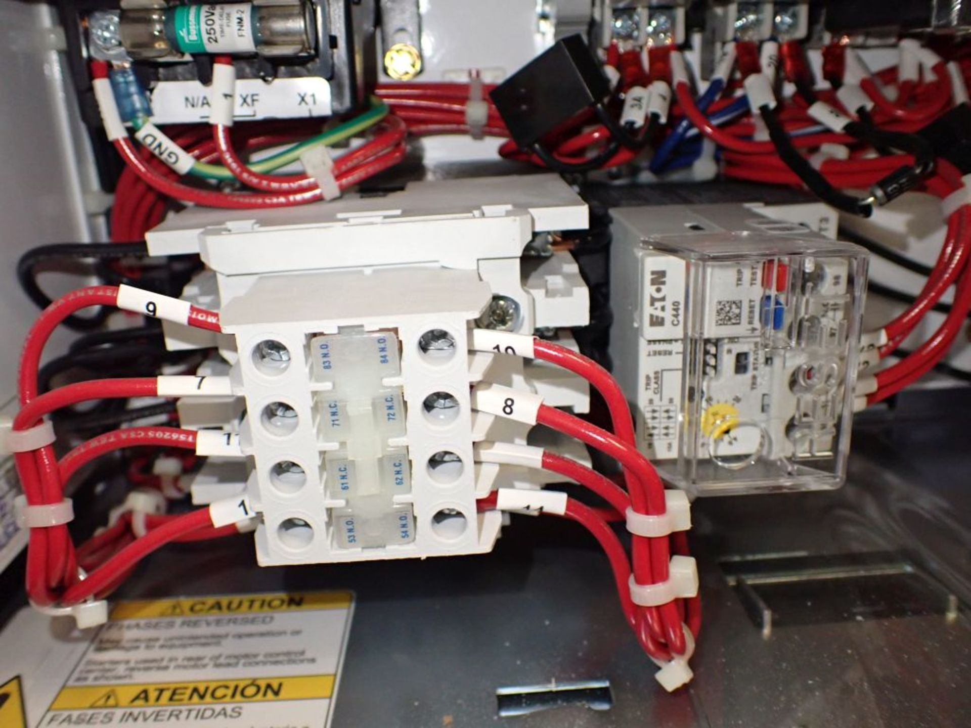 Eaton Freedom 2100 Series Motor Control Center | (11) F206-30A-10HP; (5) F206-15A-10HP; (1) SVX900- - Image 43 of 102