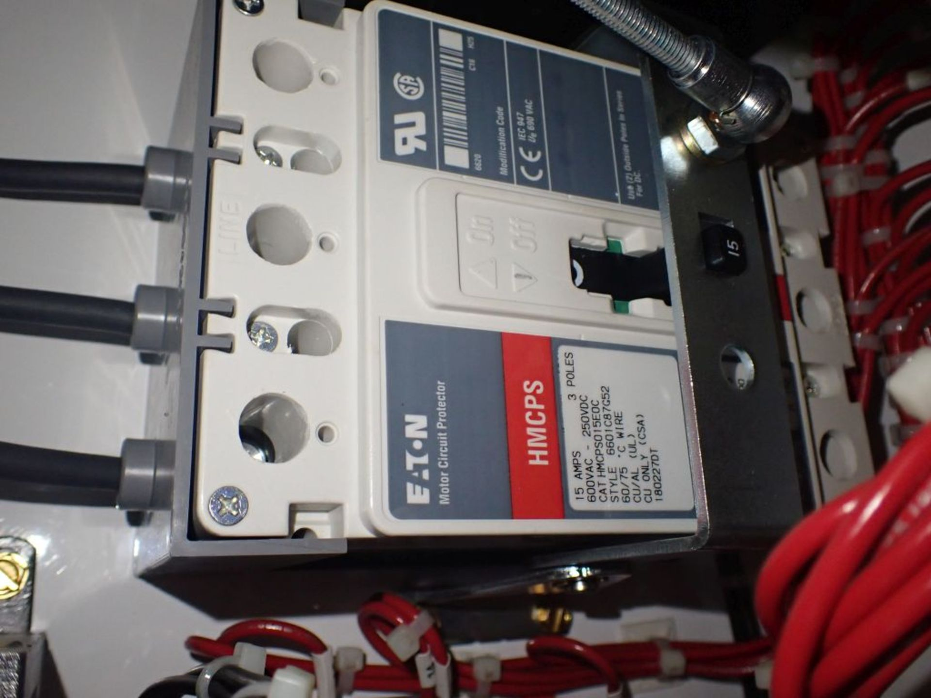 Eaton Freedom Flashgard Motor Control Center w/Components | (5) F206-15A-10HP; (4) F206-30A-10HP; ( - Image 55 of 84