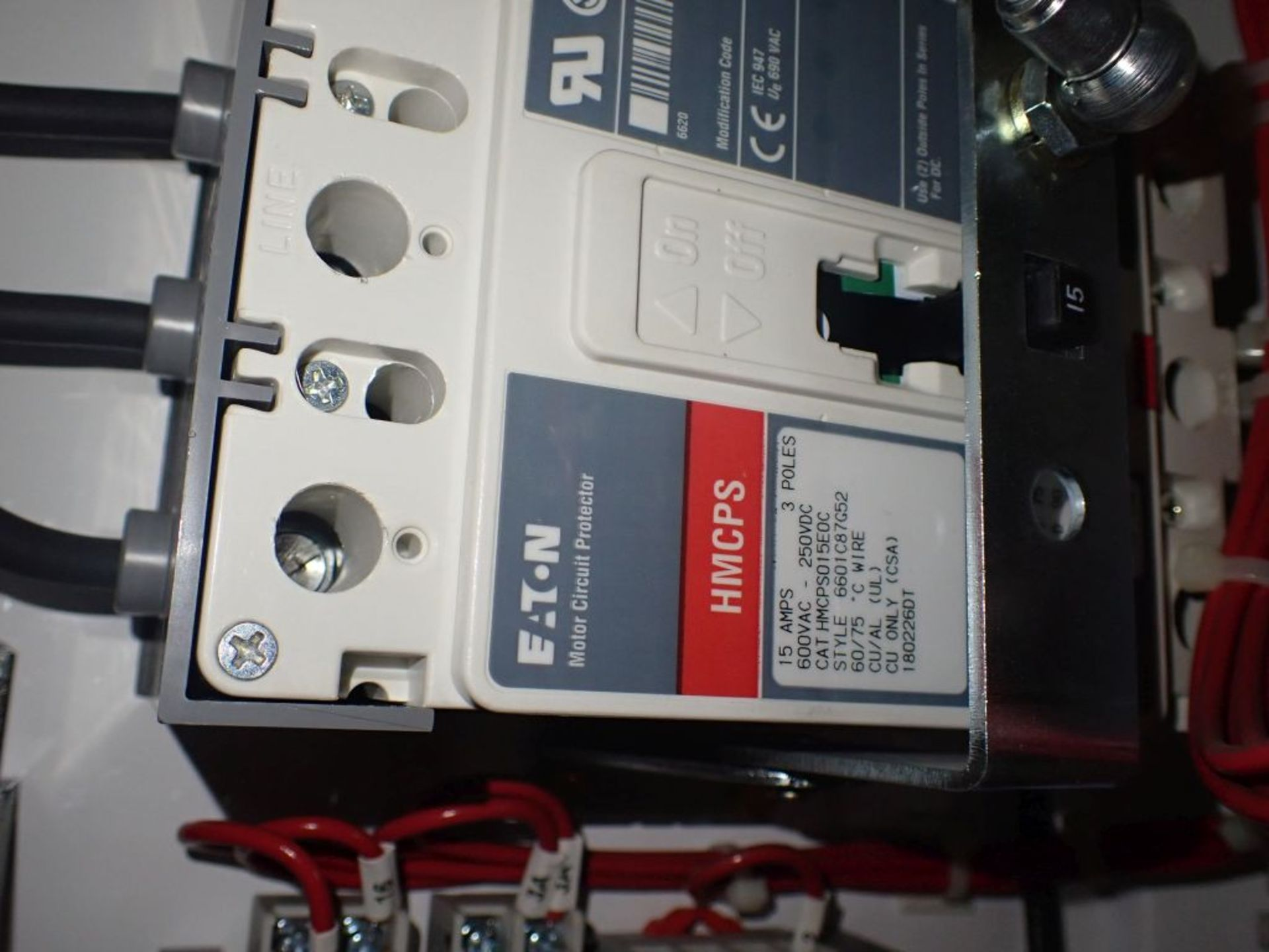 Eaton Freedom 2100 Series Motor Control Center | (2) F206-7A-10HP; (3) F206-15A-10HP; (1) FDRB-100A; - Image 70 of 87