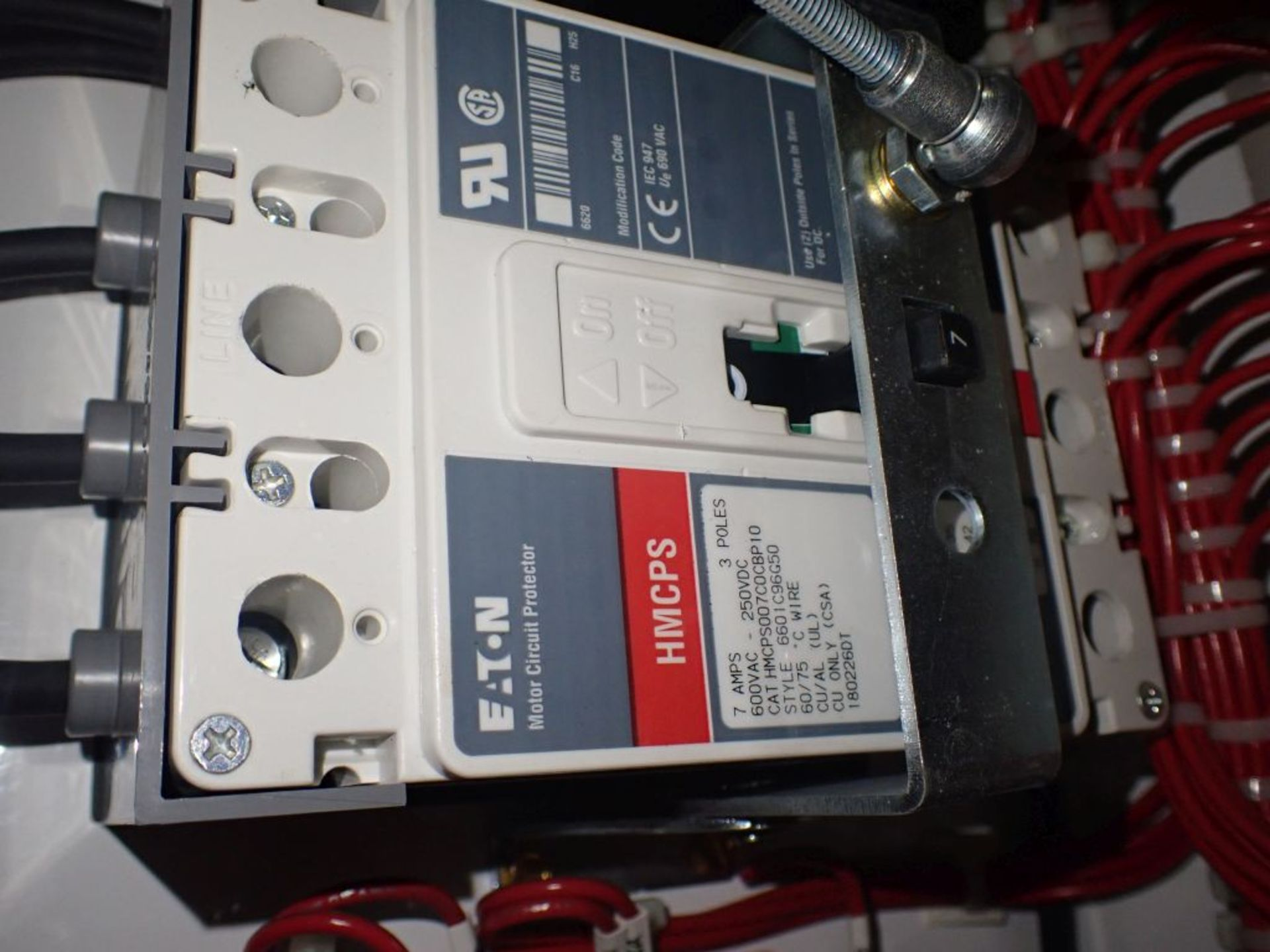 Eaton Freedom 2100 Series Motor Control Center | (2) F206-7A-10HP; (3) F206-15A-10HP; (1) FDRB-100A; - Image 48 of 87