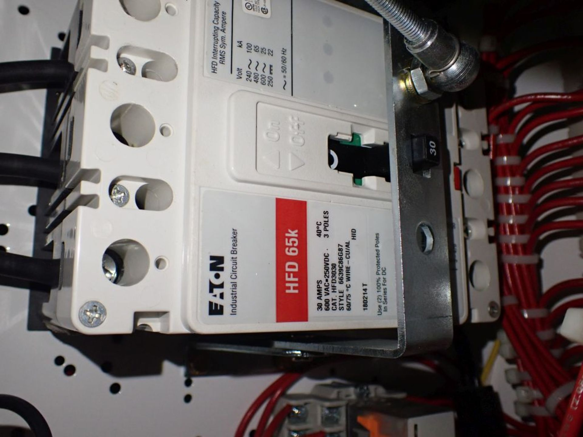 Eaton Freedom Series 2100 Motor Control Center   Never Installed; Includes:; (1) F206-30A; (1) - Image 49 of 64