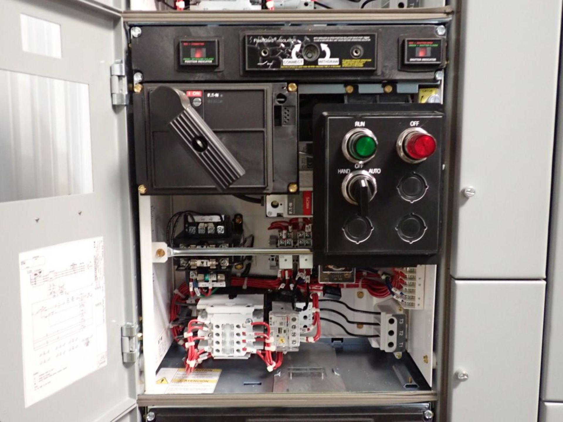 Eaton Freedom 2100 Series Motor Control Center | (11) F206-30A-10HP; (5) F206-15A-10HP; (1) SVX900- - Image 16 of 102