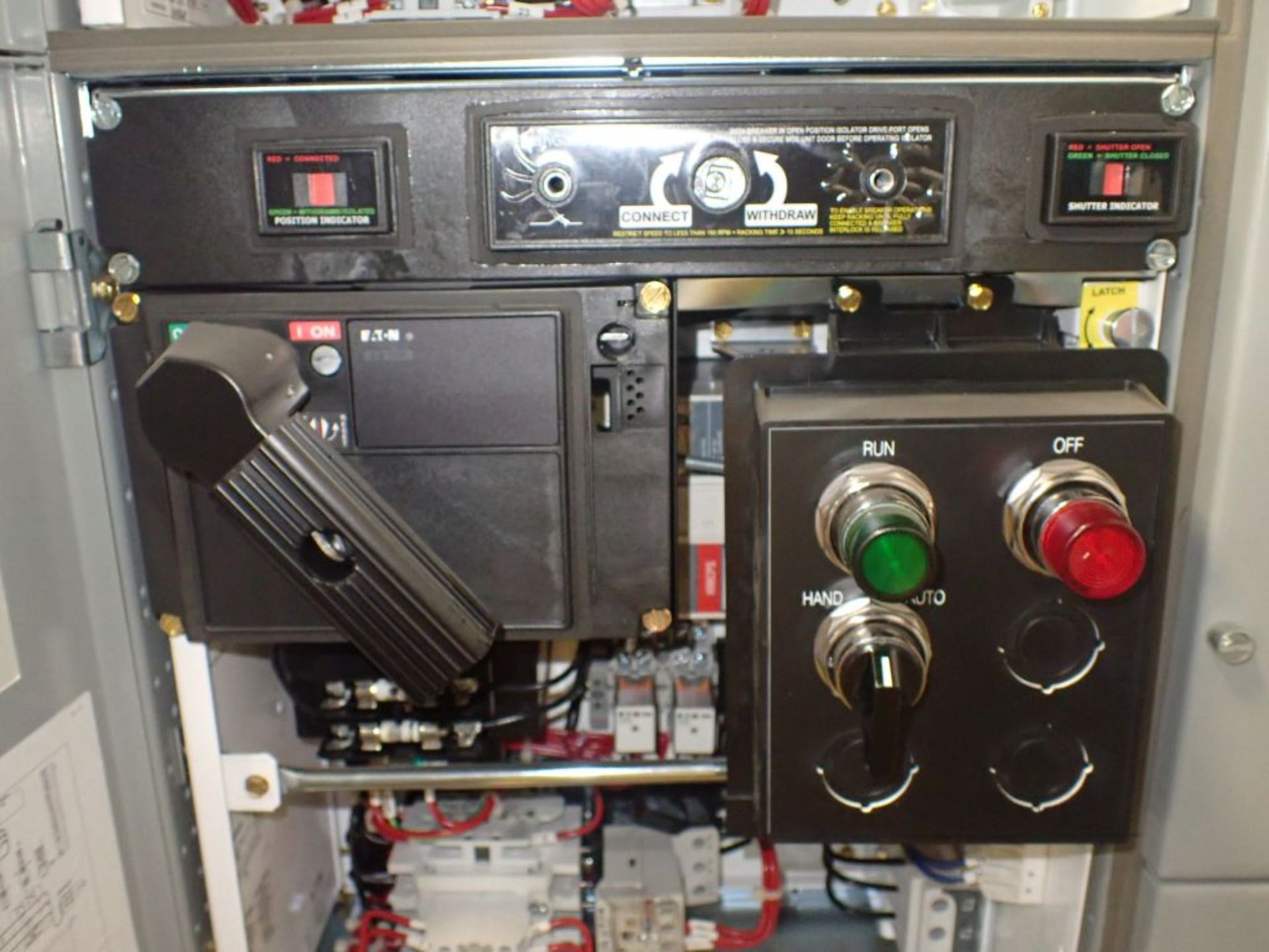 Eaton Freedom 2100 Series Motor Control Center | (2) F206-7A-10HP; (3) F206-15A-10HP; (1) FDRB-100A; - Image 78 of 87