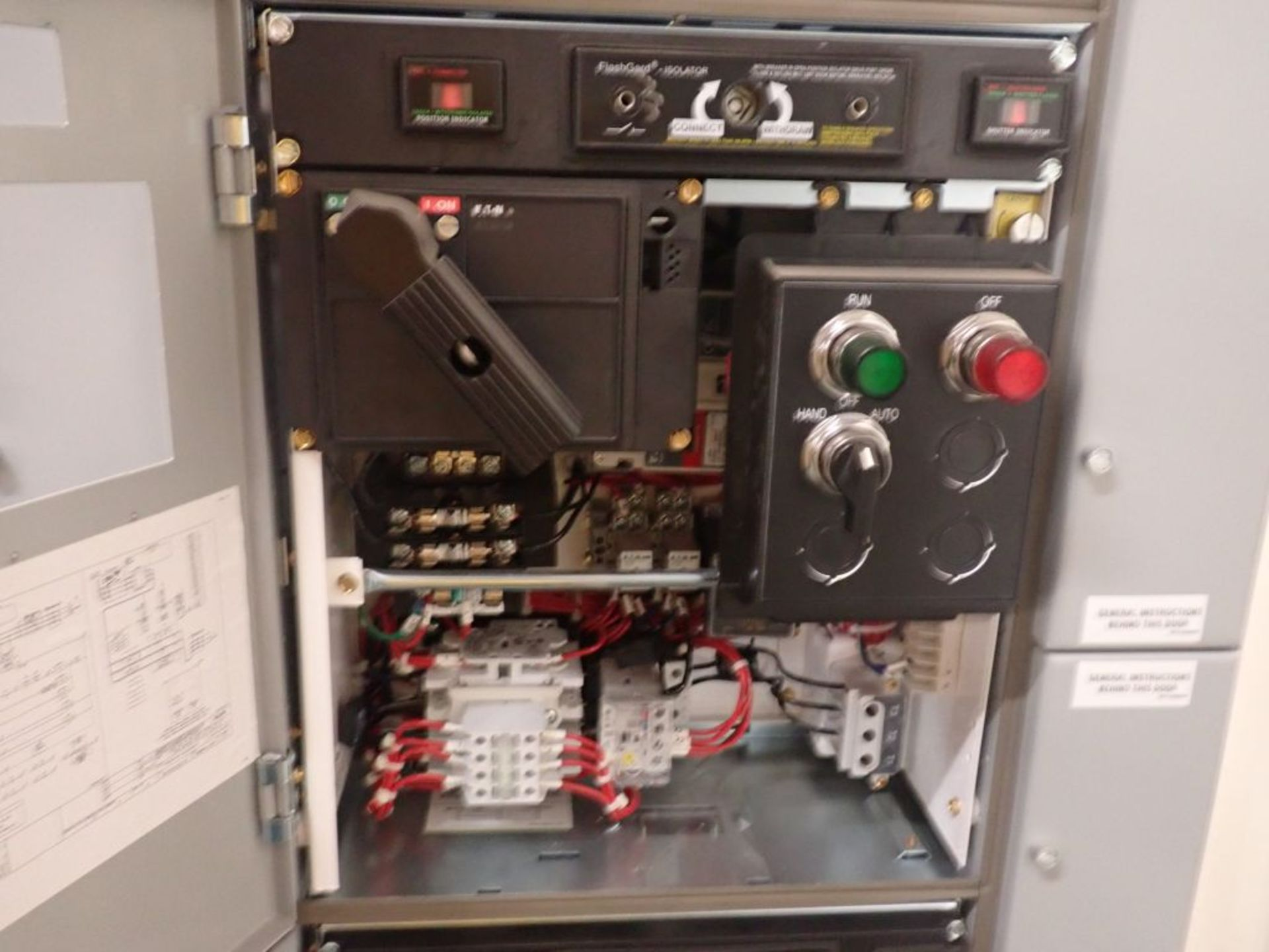 Eaton Freedom Flashgard Motor Control Center w/Components | (5) F206-15A-10HP; (4) F206-30A-10HP; ( - Image 69 of 84