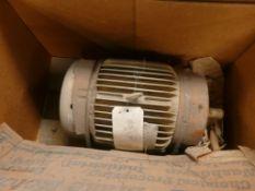 Baldor Super-E 10 HP Motor - Cat No. VEM3774T; 10 HP; 460V; 1760 RPM; Frame: 215TC; 3PH