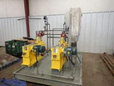 Milton Roy Skid Mounted Pump System - Code No. MBH6428FPBCCM4SEST11NN22; Serial No. 3099647-1; 75