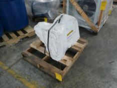 """7.5 HP 16"""" Blower with Dwyer Air Switch - Cat No. 1950-10-2F; 15A; 480V"""