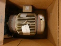 Baldor Super-E 10 HP Motor - Cat No. VEM3774T; 10 HP; 460V; 1760 RPM; 3PH