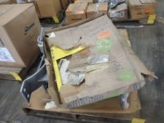 """Lot of (4) Pipe Stands and (1) Safety Gate - (4) E-Z Line 24"""" Pipe Stands, Part No. 171072; (1)"""