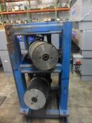 Stand with Dual Material Feed Rollers