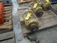 Baldor 15 HP Super-E Motor - Cat No. EM2394T; 15 HP; 460V; 3525 RPM; 3PH