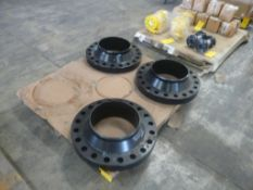 Lot of (3) Manifold Flanges