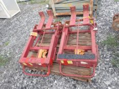 Lot of (2) Wesco Machinery Movers - Model No. RNR-10; Tag: 215297