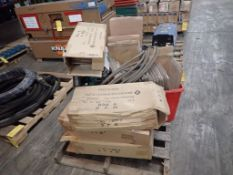 Lot of Assorted Components - Includes: Fire Extinguisher Replacement Glass/Door; Hose; A Tank of