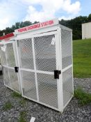 "American Standard Metal Storage Cabinet - 29"" x 44"" x 65""; Tag: 215317"