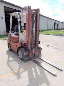 "Datsun Forklift - Model No. CPF02 Type LB; S/N: CPF02-002170; 5000 lb Capacity; 130"" Max Lift"