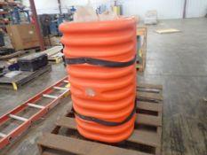 Lot of (2) Orange Column Protectors; Tag: 215171