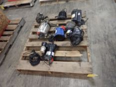 Lot of Assorted Submersible Pumps - Brands Include: DRS; Northern Industrial; Simer; Tag: 215079