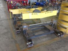 Lot of (2) Welding Automation Roller Stands - (1) Welding Automation HD Pipe Roller Stand Serial No.