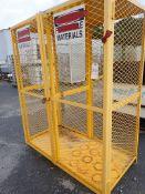 "Propane Storage Cabinet - 30"" x 72"" x 60""; Tag: 215321"