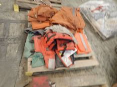 Lot of Work Clothes and Life Jackets; Tag: 214968