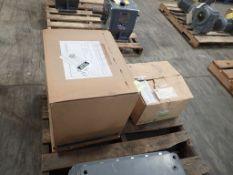 Lot of Assorted Falk Components - (1) Enclosed Gear Drive Model No. 5215 J05 A, 4.923 Ratio;