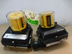 Lot of (2) Watchman Valve Position Transmitters - Model No. FMYB-5120; 120/250V; 15A; Tag: 216101